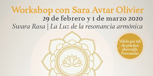 Workshop Shakti Dance: Swara Rasa La luz de la Resonancia Armónica