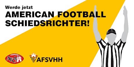 American Football Schiedsrichter E-Lizenz 2020 Tickets