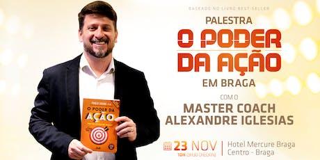 PALESTRA O PODER DA AÇÃO - TIRE A SUA VIDA IDEAL DO PAPEL! bilhetes