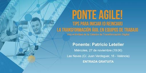 Encuentro Ponte Agile! En Las Naves