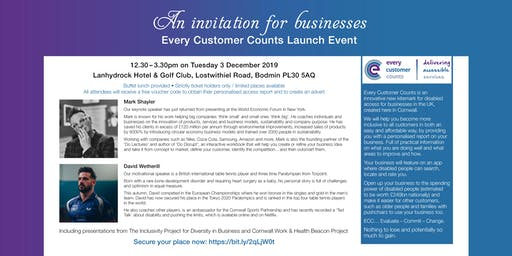 Every Customer Counts Launch Event