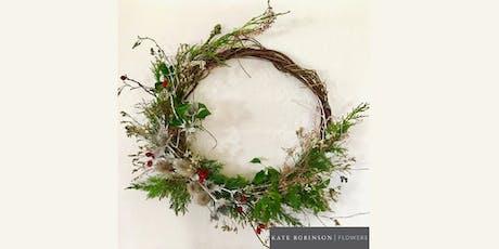 Festive wreath-making workshop tickets