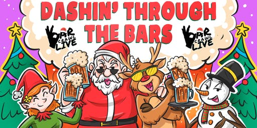 Dashin' Through The Bars | Charlotte, NC | Bar Crawl Live