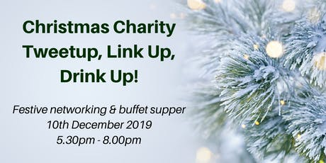 Christmas Charity Tweetup Link-Up Drink Up! tickets