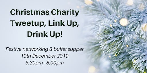 Christmas Charity Tweetup Link-Up Drink Up!