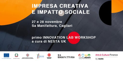 WORKSHOP su IMPRESA CREATIVA e IMPATTO SOCIALE