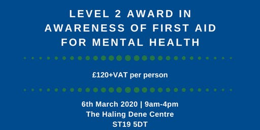 FAA Level 2 Award in First Aid for Mental Health