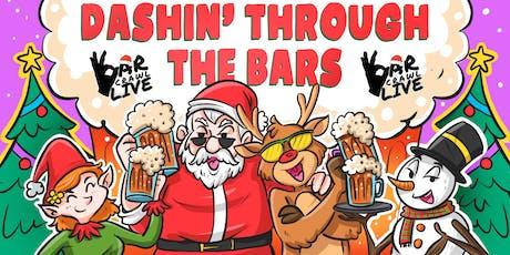 Dashin' Through The Bars   Philadelphia, PA   Bar Crawl Live tickets