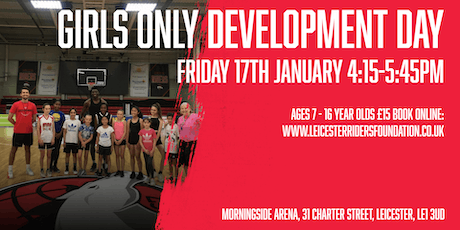 Leicester Riders Junior GIRLS ONLY Development Day tickets