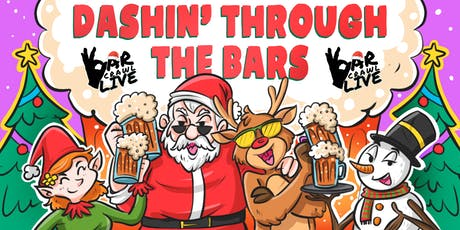 Dashin' Through The Bars | Boston, MA | Bar Crawl Live tickets