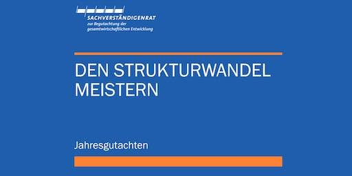 """IMFS Policy Lecture: Prof. Volker Wieland - """"Den Strukturwandel meistern"""""""