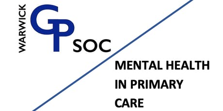 Mental Health in Primary Care Evening tickets