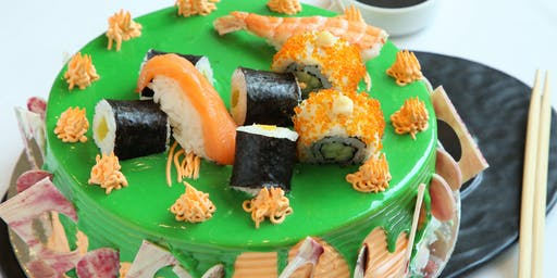Sushi Cakes SO Delicious  at Zing GourMET Shop, The Metropolitan Hotel & Sp