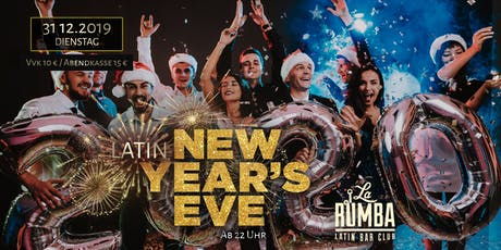 Latin New Years Eve Tickets