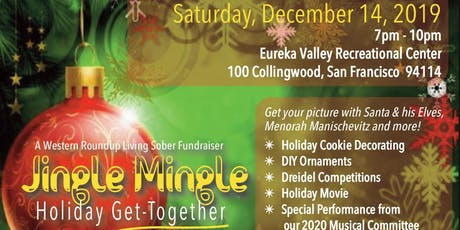 The Jingle Mingle - A Living Sober Holiday Get-Together tickets