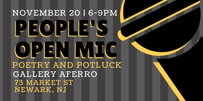 People's Open Mic: Potluck & Poetry
