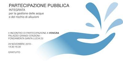 Partecipazione pubblica dei piani di gestione acque e rischio alluvioni