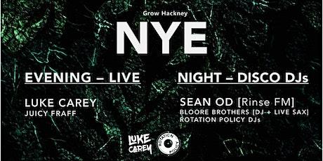 NYE at Grow Hackney: New Decade Disco tickets