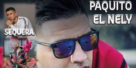 CONCIERTO PAQUITO EL NELY, SALCEDO LEYRY, SEQUERA, EGIPTANO Y LUIS EL CHATO entradas