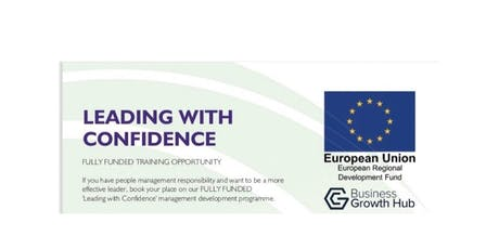 FULLY FUNDED 'Leading with Confidence' for SMEs Greater Manchester - apply  tickets