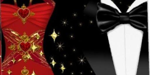 A Black tie/Red dress Soiree
