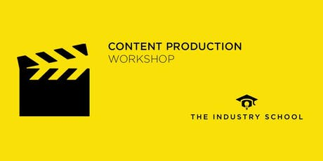 Content Production Workshop tickets