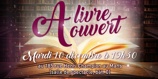 "SPECTACLE ""A LIVRE OUVERT"" - THE VILLAGE GO"