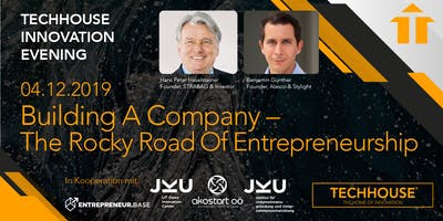 Innovation Evening: Building a Company (The Rocky Road of Entrepreneurship)