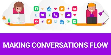 Seminar: Making conversations flow billets