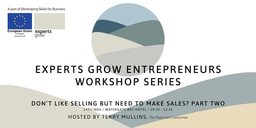 Don't like selling but need to make sales (Part two) - with Terry Mullins