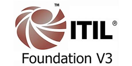 ITIL V3 Foundation 3 Days Training in San Francisco, CA tickets
