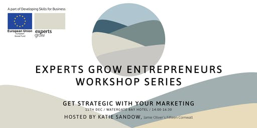 Get strategic with your marketing  - Hosted by Katie Sandow of Fifteen