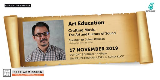 CRAFTING MUSIC: THE ART & CULTURE OF SOUND