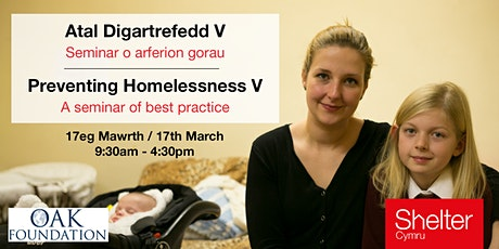 Preventing Homelessness V: A seminar of best practice supported by the Oak Foundation tickets