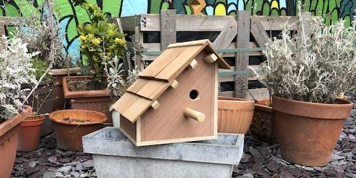 Intro to woodwork: Birdhouse