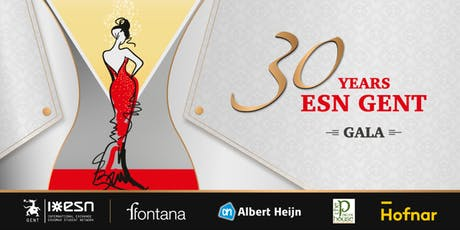30 years of ESN Gent - Gala tickets