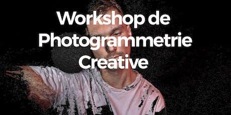 Workshop de Photogrammétrie Créative tickets