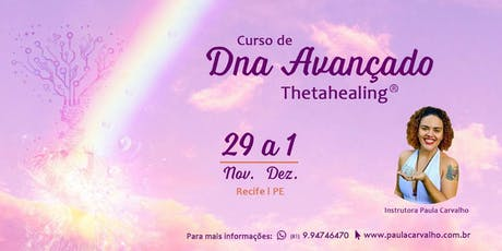 Curso de Thetahealing® DNA Avançado ingressos
