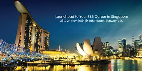 Launchpad to your F&B Career in Singapore tickets