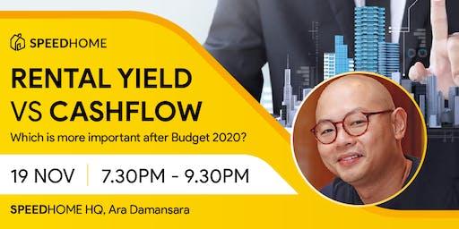 Rental Yield vs Cash Flow After Budget 2020