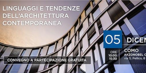Linguaggi e tendenze dell'architettura contemporanea - Como/AkzoNobel