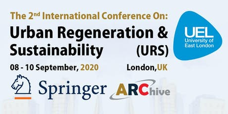 Urban Regeneration and Sustainability 2nd Edition conference tickets