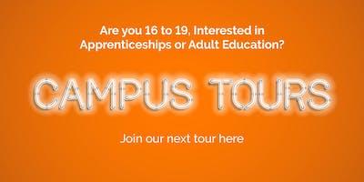 Campus Tours Wednesday 1 April 2020