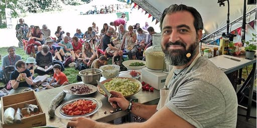 Lebanese cookery class with Ahmad
