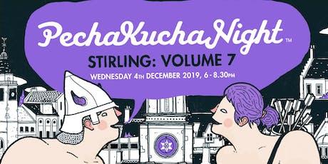 Pecha Kucha Stirling Volume 7 tickets