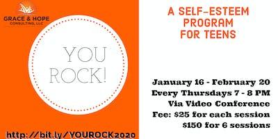 YOU ROCK! Self-esteem program for teens (ONLINE)