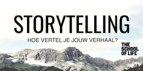 Storytelling door Tim Verheyden tickets