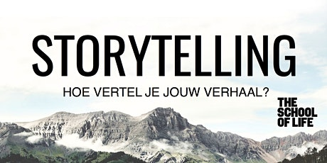 Storytelling door Tim Verheyden tickets
