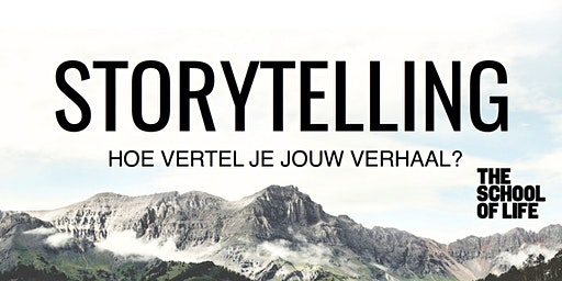 Storytelling door Tim Verheyden