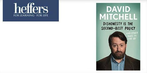 Book Signing with David Mitchell: Dishonesty is the Second-Best Policy